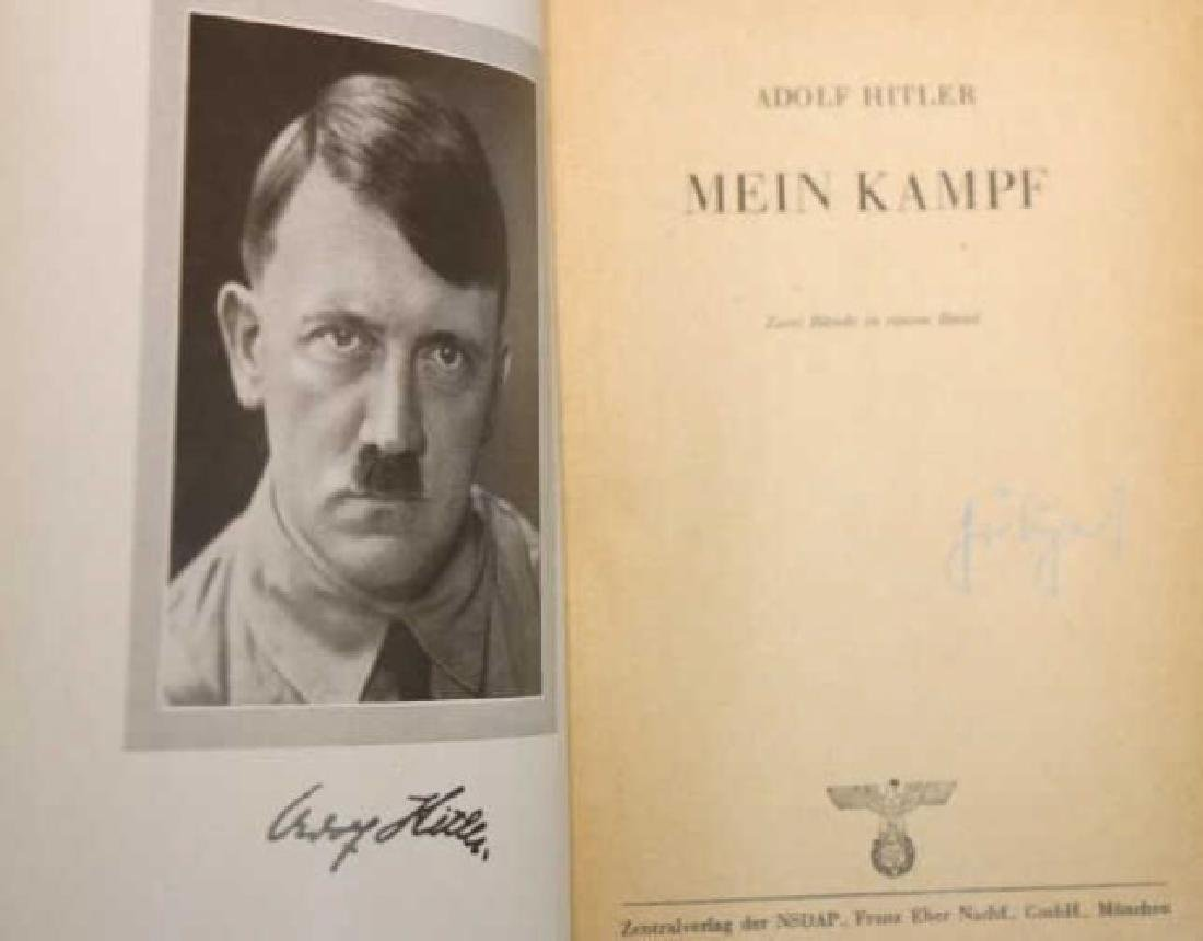 "1943 ""MEIN KAMPF"" BY ADOLF HITLER - 5"
