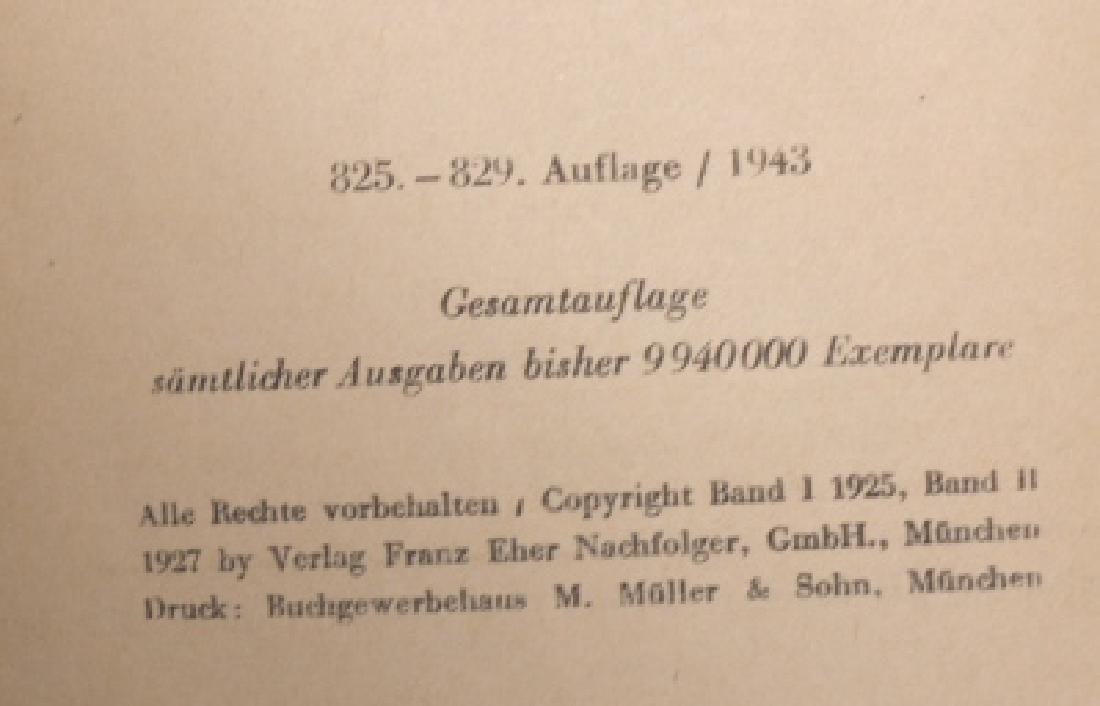 "1943 ""MEIN KAMPF"" BY ADOLF HITLER - 6"