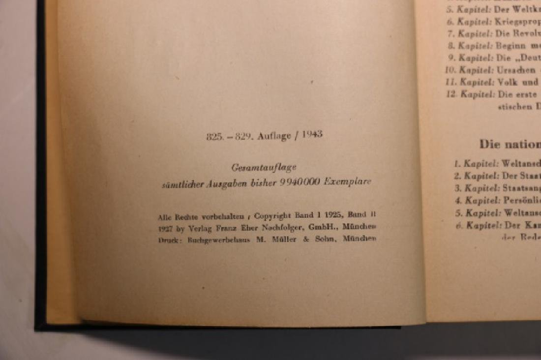 "1943 ""MEIN KAMPF"" BY ADOLF HITLER - 7"