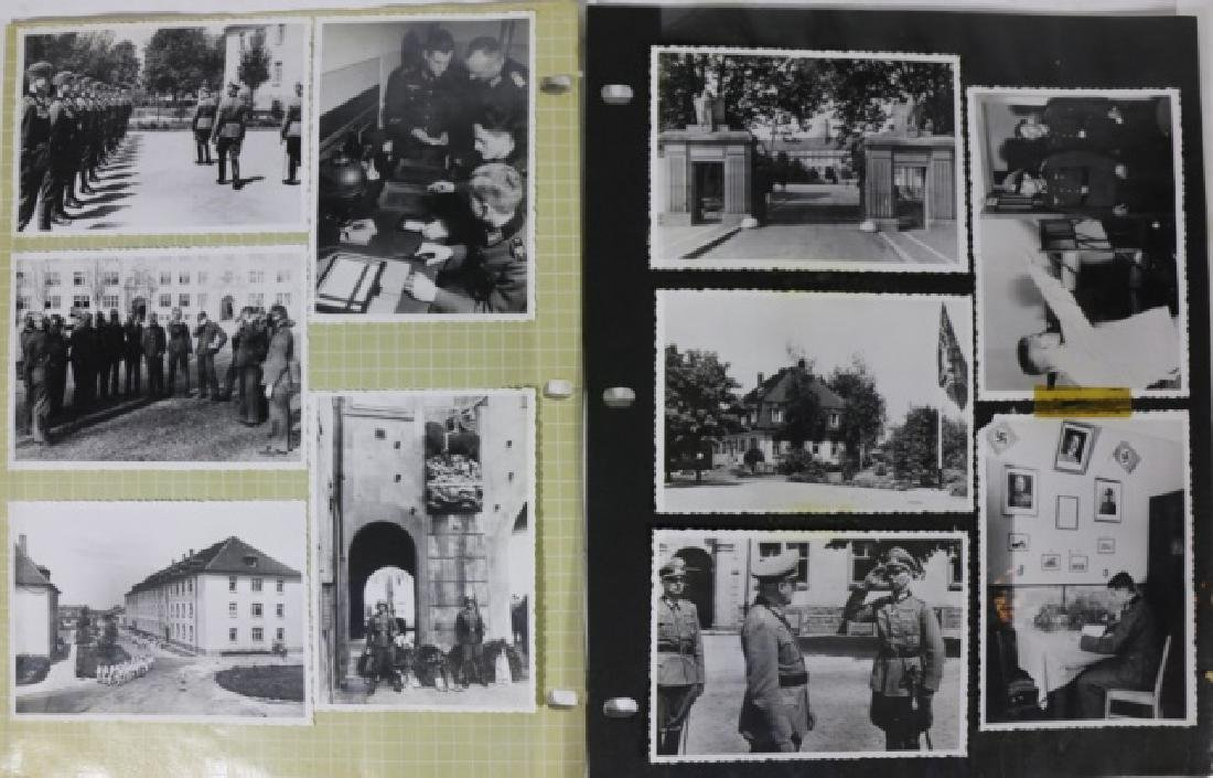 GERMAN WWII PERIOD MILITARY  PHOTO GROUPING