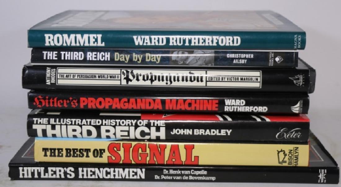 GERMAN WWII MILITARY HARDBOUND BOOK GROUPING