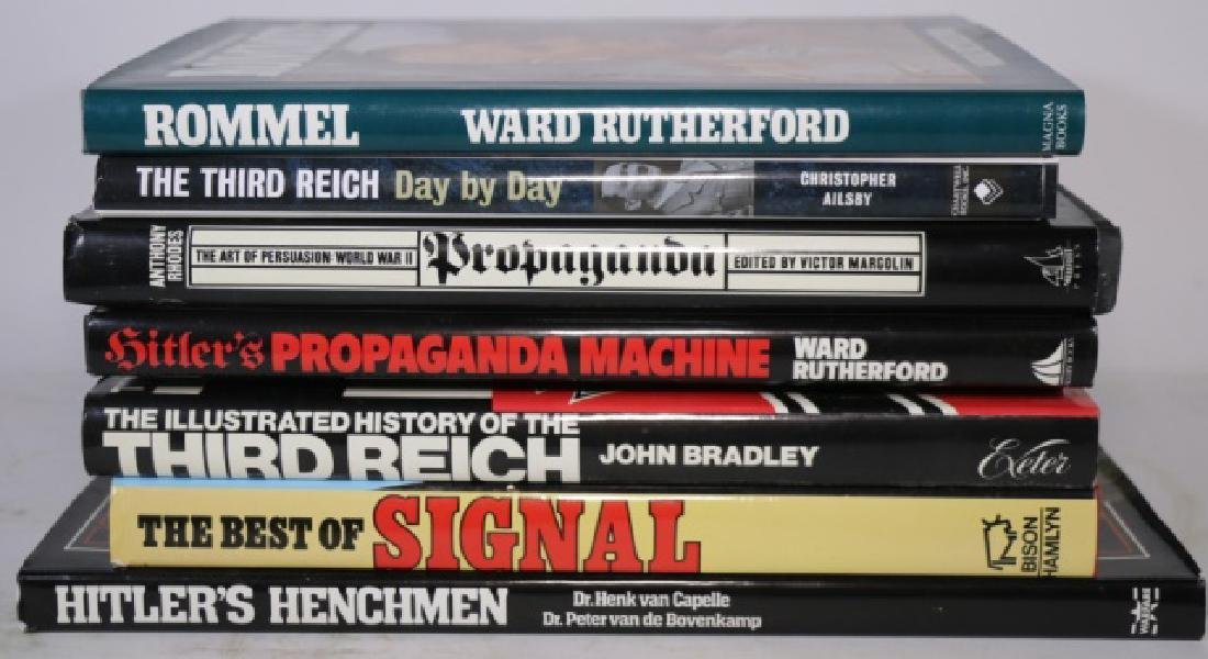 GERMAN WWII MILITARY HARDBOUND BOOK GROUPING - 2