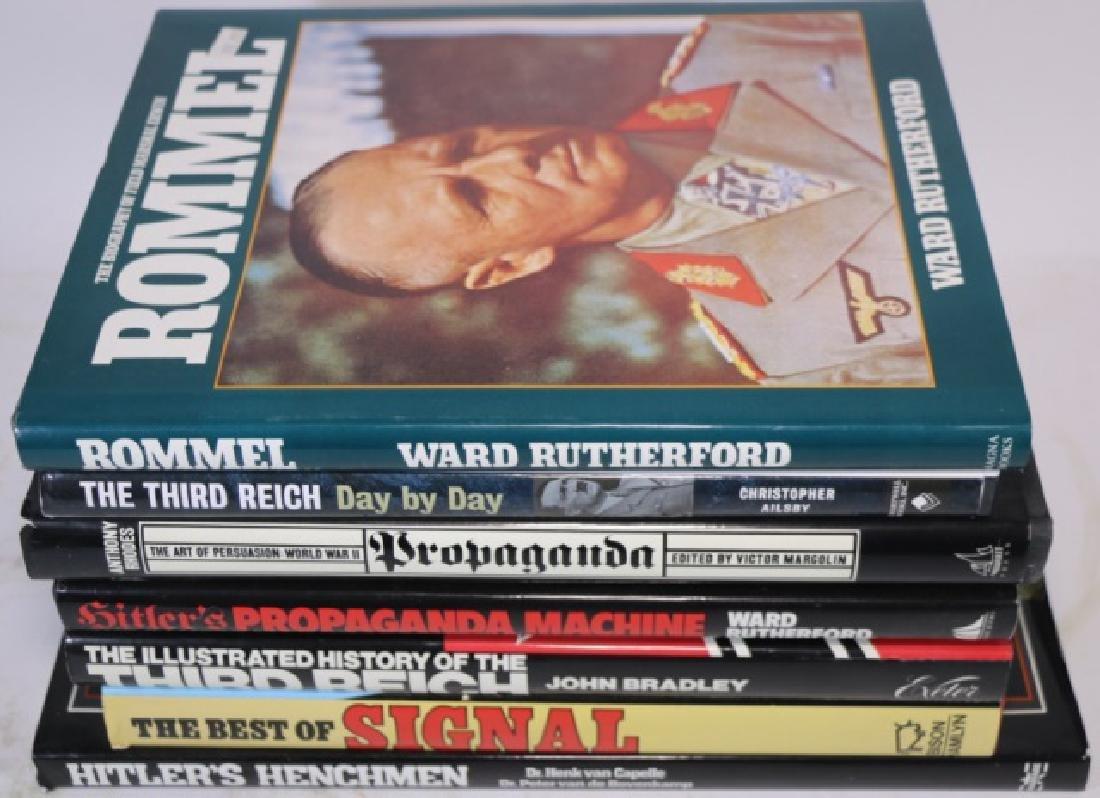 GERMAN WWII MILITARY HARDBOUND BOOK GROUPING - 5