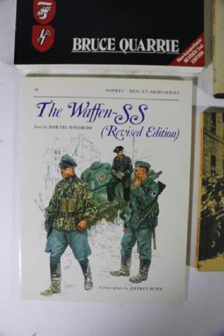 GERMAN WWII MILITARY HARDBOUND BOOK GROUPING - 2