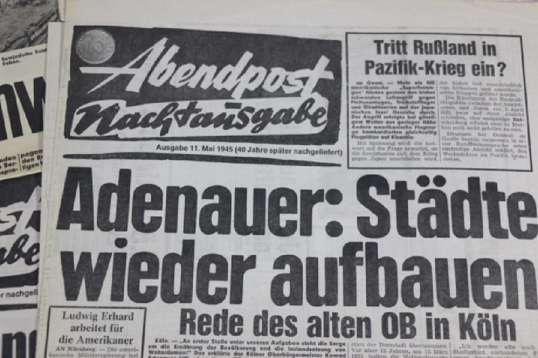 GERMAN WWII NEWSPAPER GROUPING - 6
