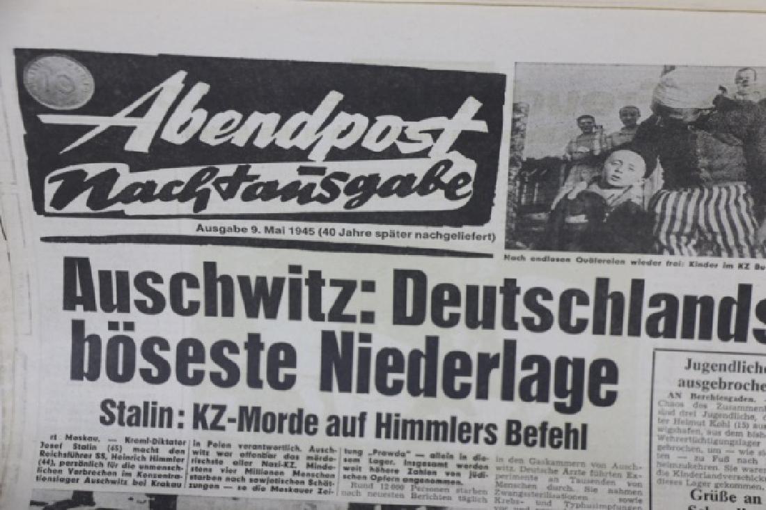 GERMAN WWII NEWSPAPER GROUPING - 8