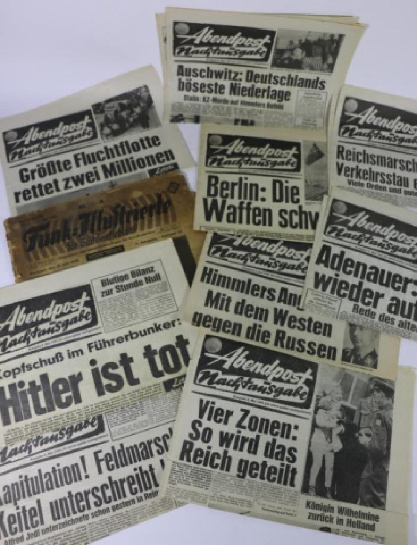 GERMAN WWII NEWSPAPER GROUPING - 9