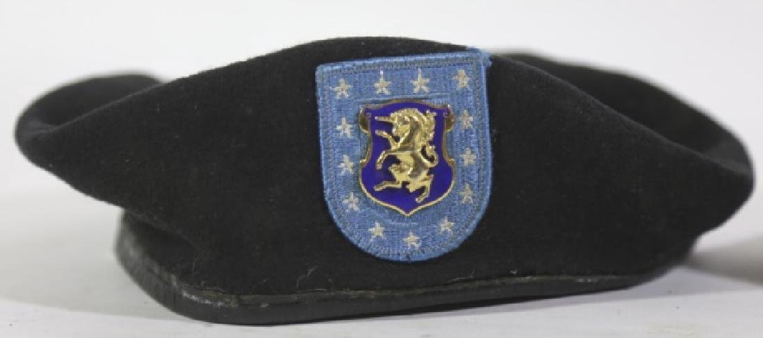 MILITARY VINTAGE BERET GROUPING - 3
