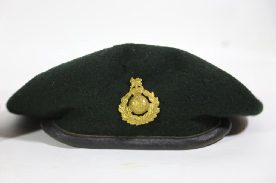 MILITARY VINTAGE BERET GROUPING - 5