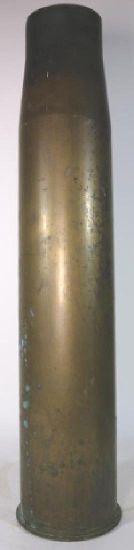 WWI-WWII 8X57 IS BRASS MILITARY SHELL CASING