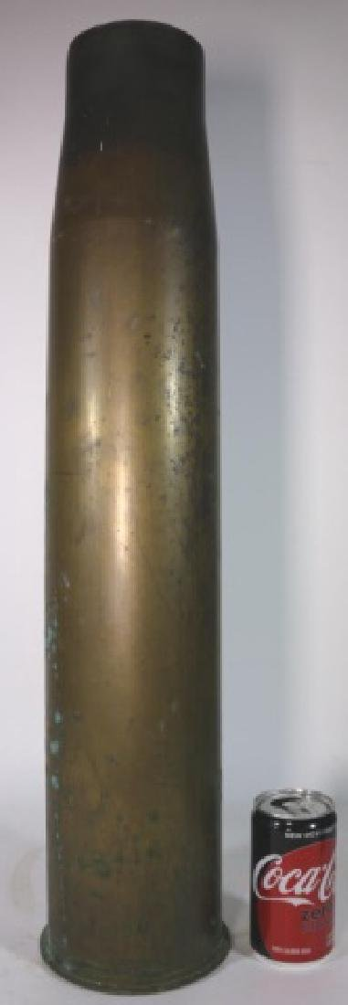 WWI-WWII 8X57 IS BRASS MILITARY SHELL CASING - 3