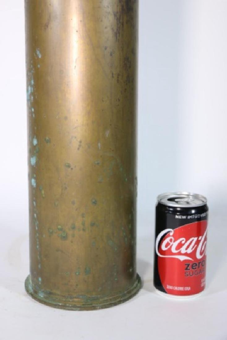 WWI-WWII 8X57 IS BRASS MILITARY SHELL CASING - 4
