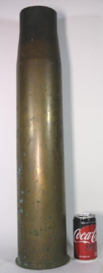 WWI-WWII 8X57 IS BRASS MILITARY SHELL CASING - 5