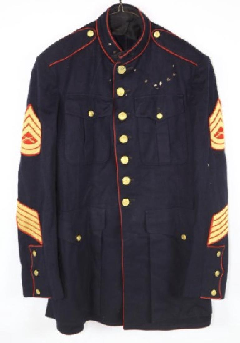 UNITED STATES MARINE CORP DRESS BLUES UNIFORM