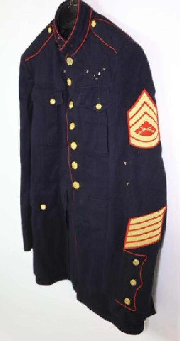 UNITED STATES MARINE CORP DRESS BLUES UNIFORM - 2