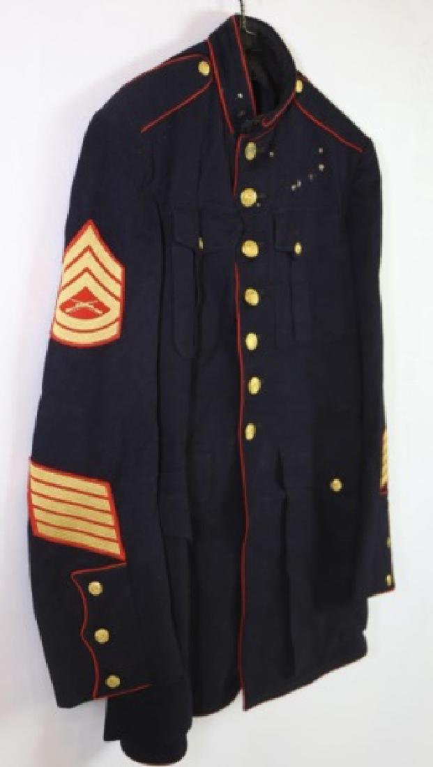 UNITED STATES MARINE CORP DRESS BLUES UNIFORM - 3