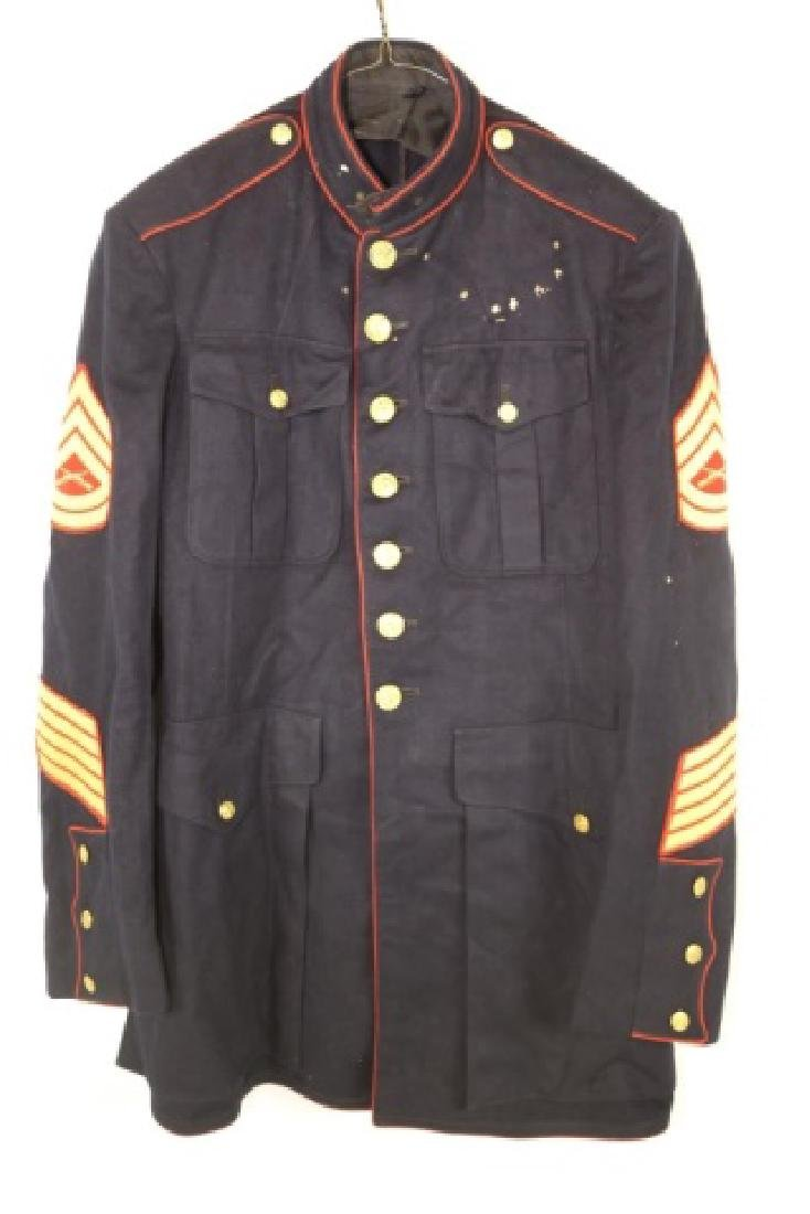 UNITED STATES MARINE CORP DRESS BLUES UNIFORM - 4