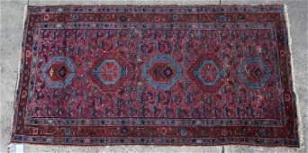 PERSIAN SEMIANTIQUE HAND WOVEN AREA CARPET