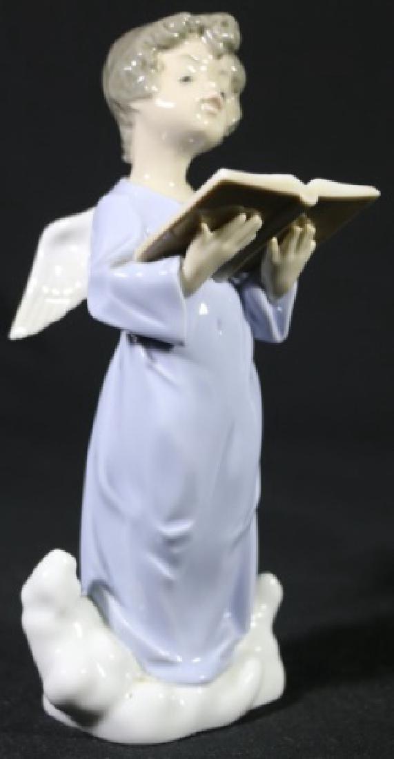LLADRO READING ANGEL PORCELAIN SCULPTURE 5724
