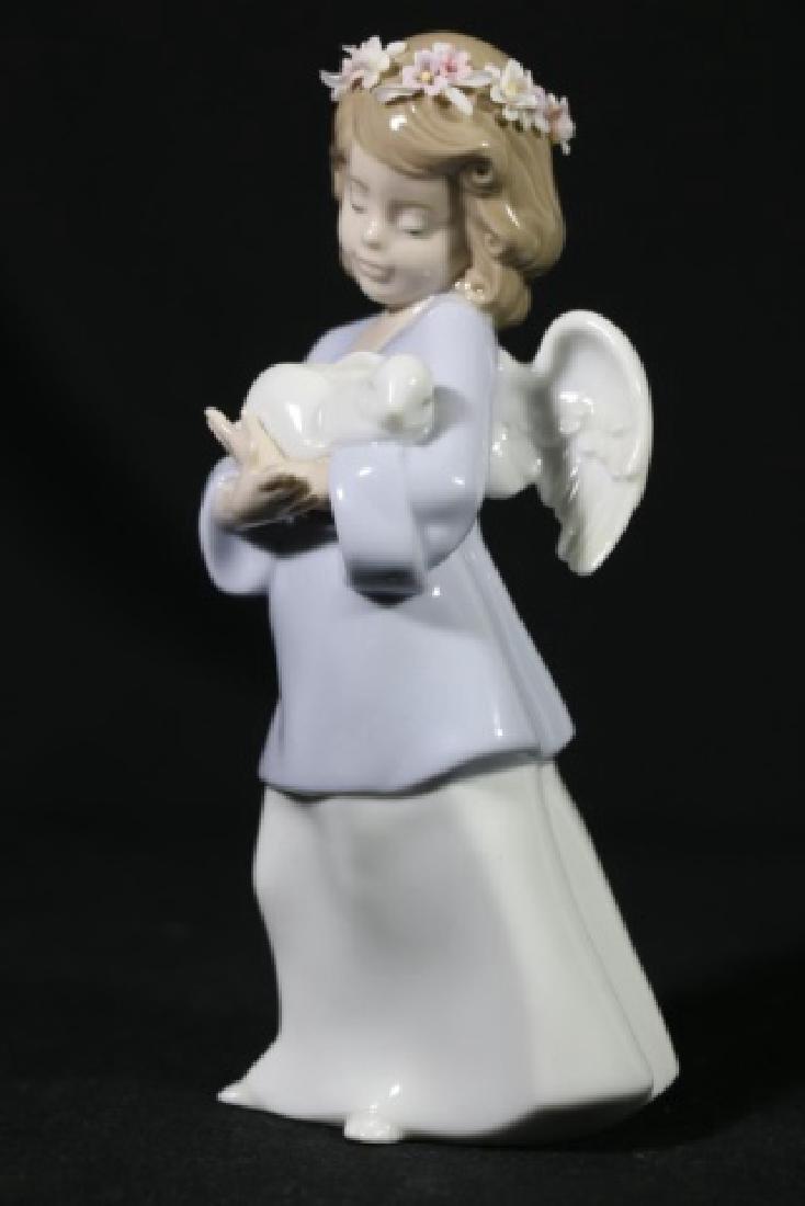 LLADRO  ANGEL PORCELAIN SCULPTURE - 2