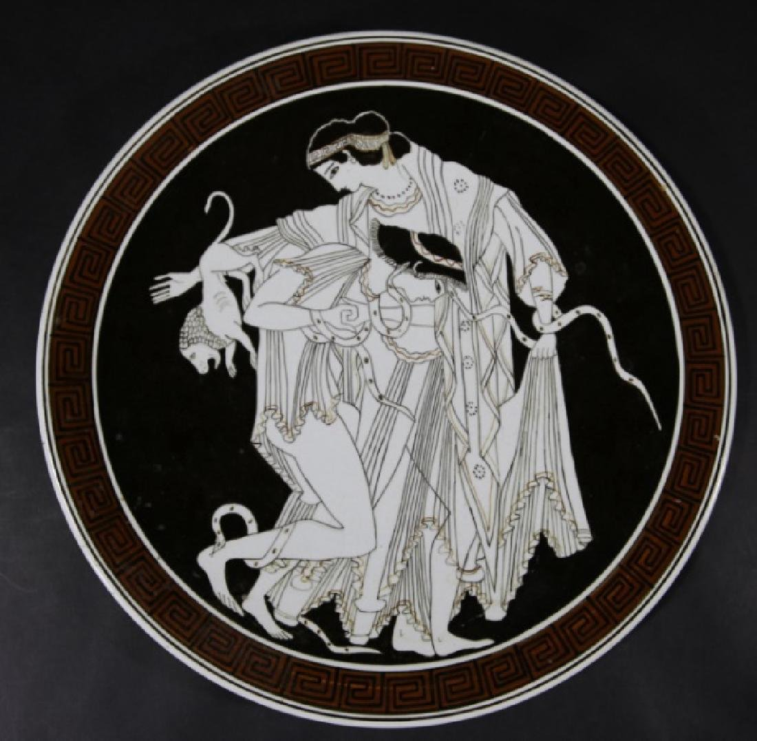GREEK CERAMIC CHARGER