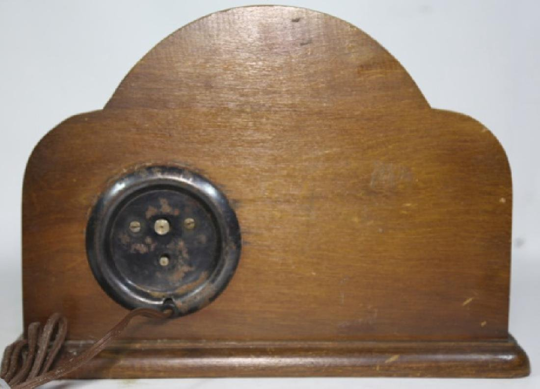 LANSHIRE EQUESTRIAN MID CENTURY ELECTRIC CLOCK - 6
