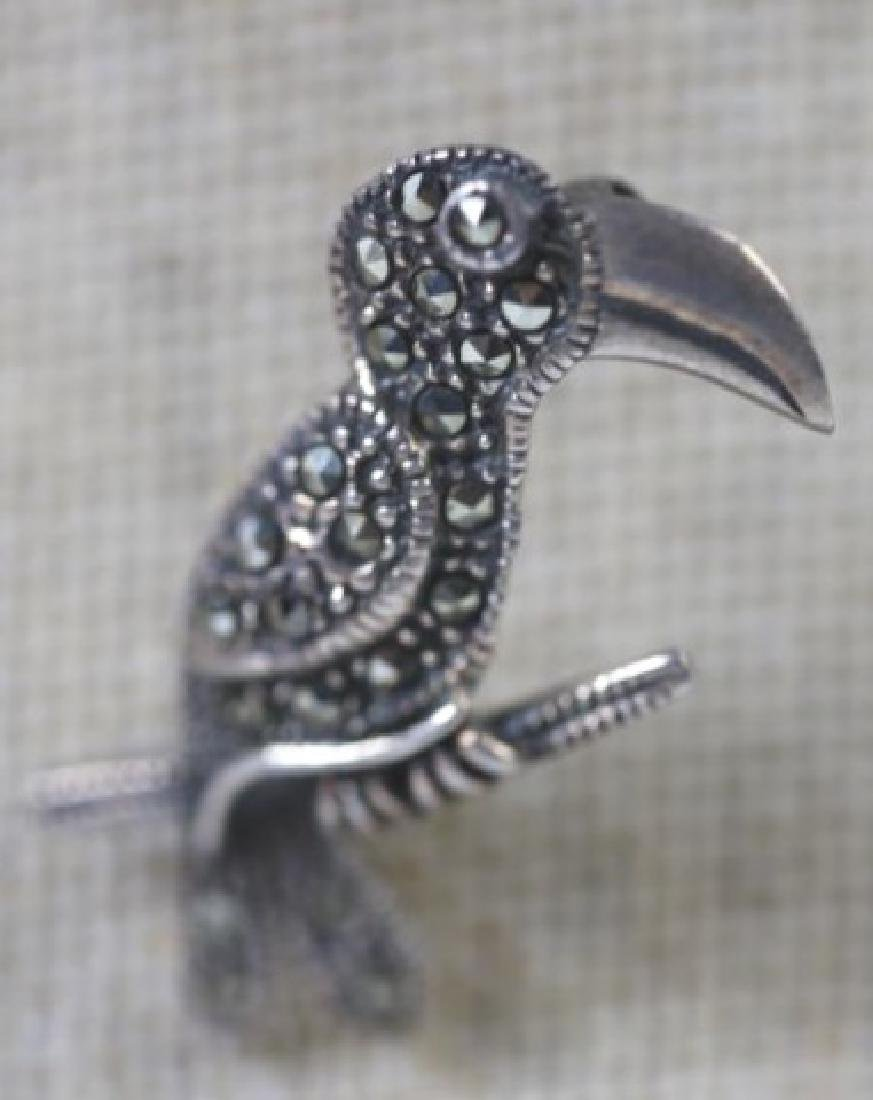 STERLING SILVER VINTAGE PIN GROUPING - 3