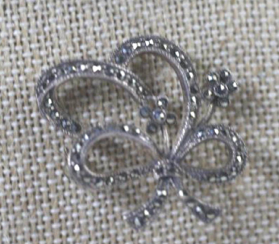 STERLING SILVER VINTAGE PIN GROUPING - 4
