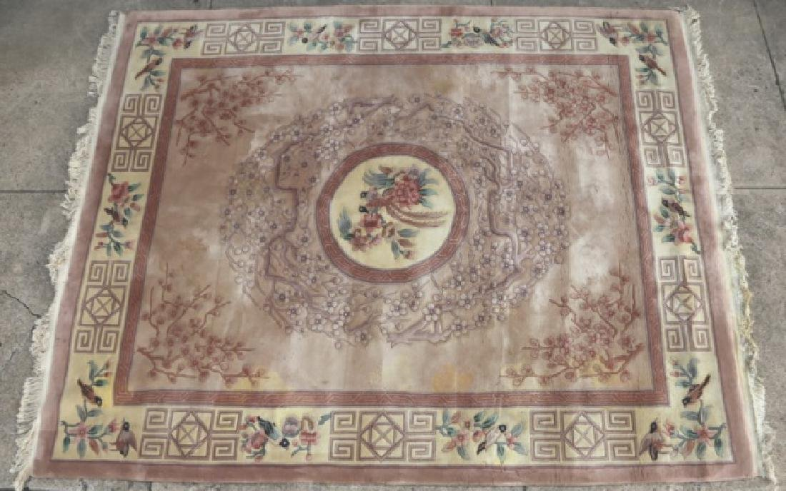 CHINESE FINE HEAVY FILE ROOM SIZE CARPET
