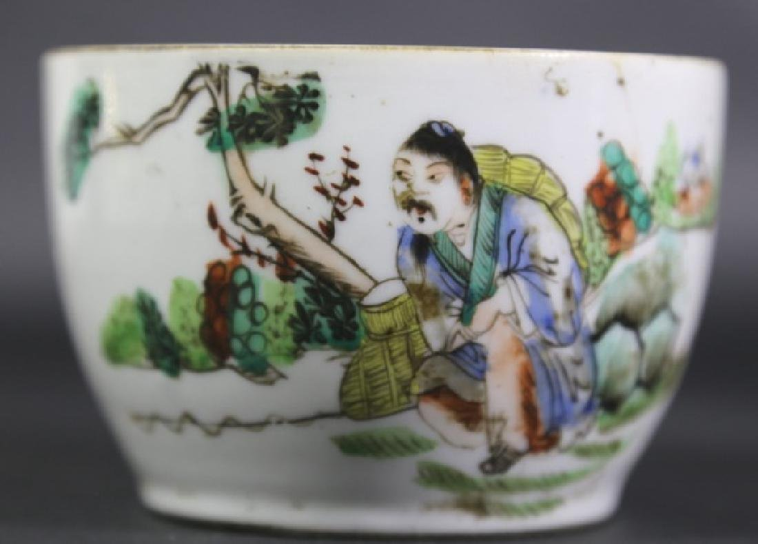 CHINESE EXPORT 18TH C. BOWL - 2