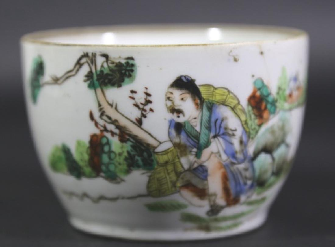 CHINESE EXPORT 18TH C. BOWL - 3
