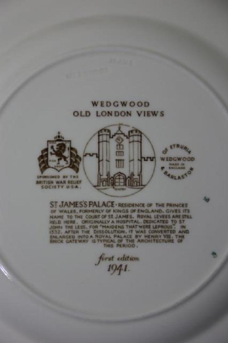 WEDGWOOD CABINET PLATE GROUPING - 2