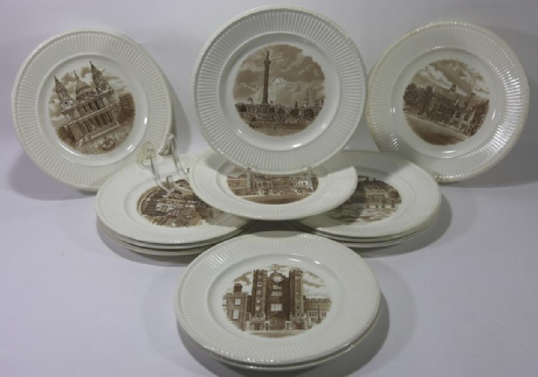 WEDGWOOD CABINET PLATE GROUPING - 3
