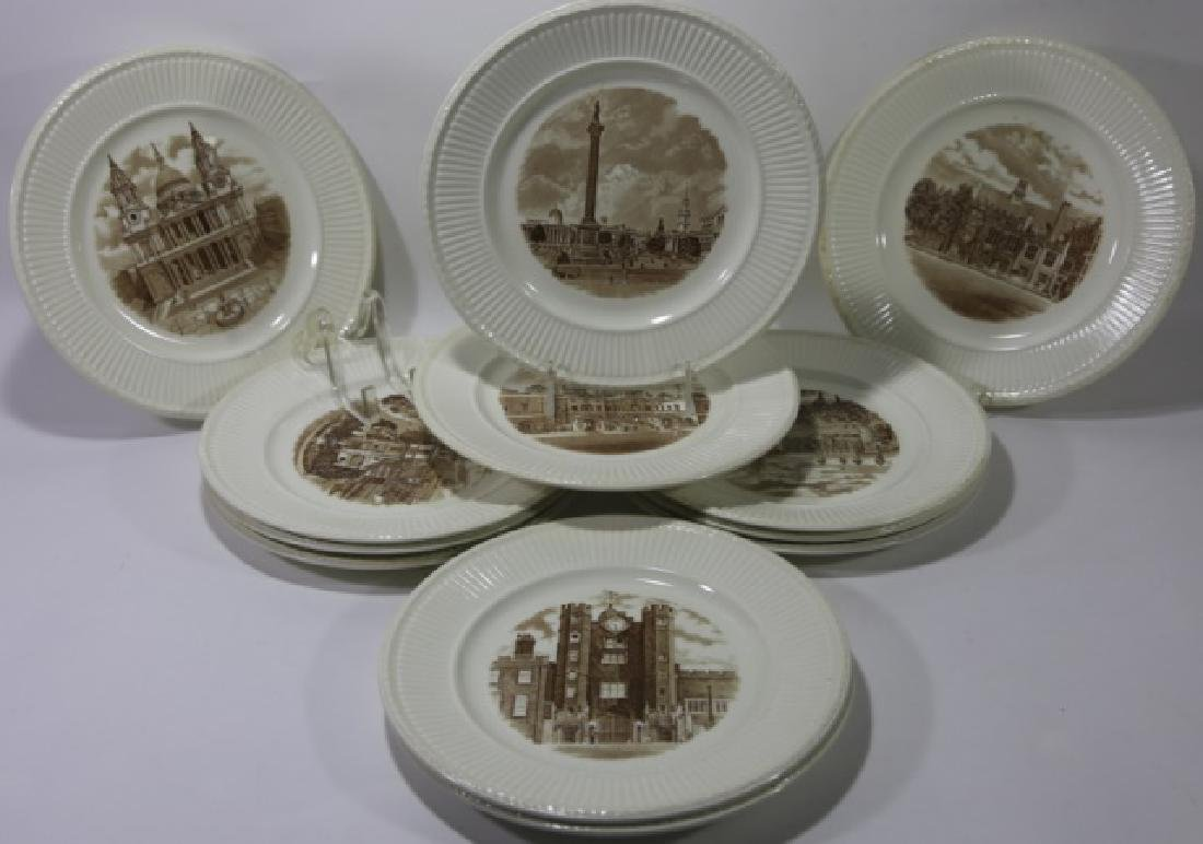 WEDGWOOD CABINET PLATE GROUPING - 4