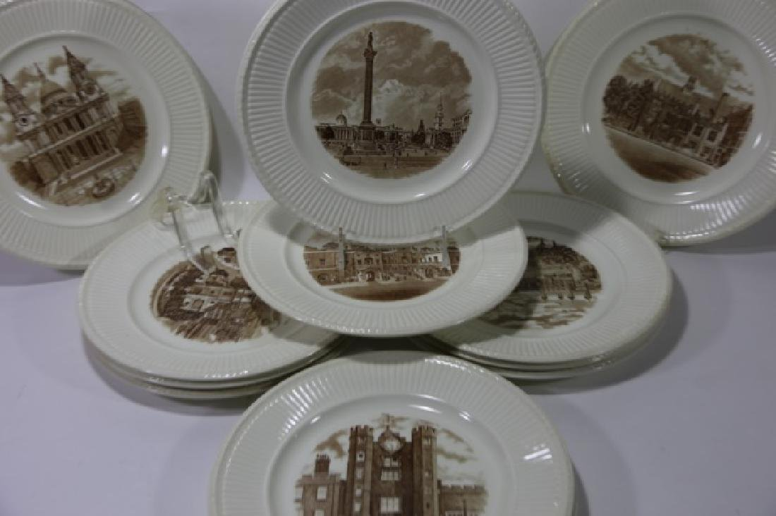 WEDGWOOD CABINET PLATE GROUPING - 7