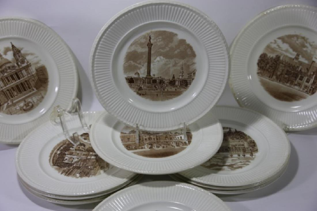 WEDGWOOD CABINET PLATE GROUPING - 8