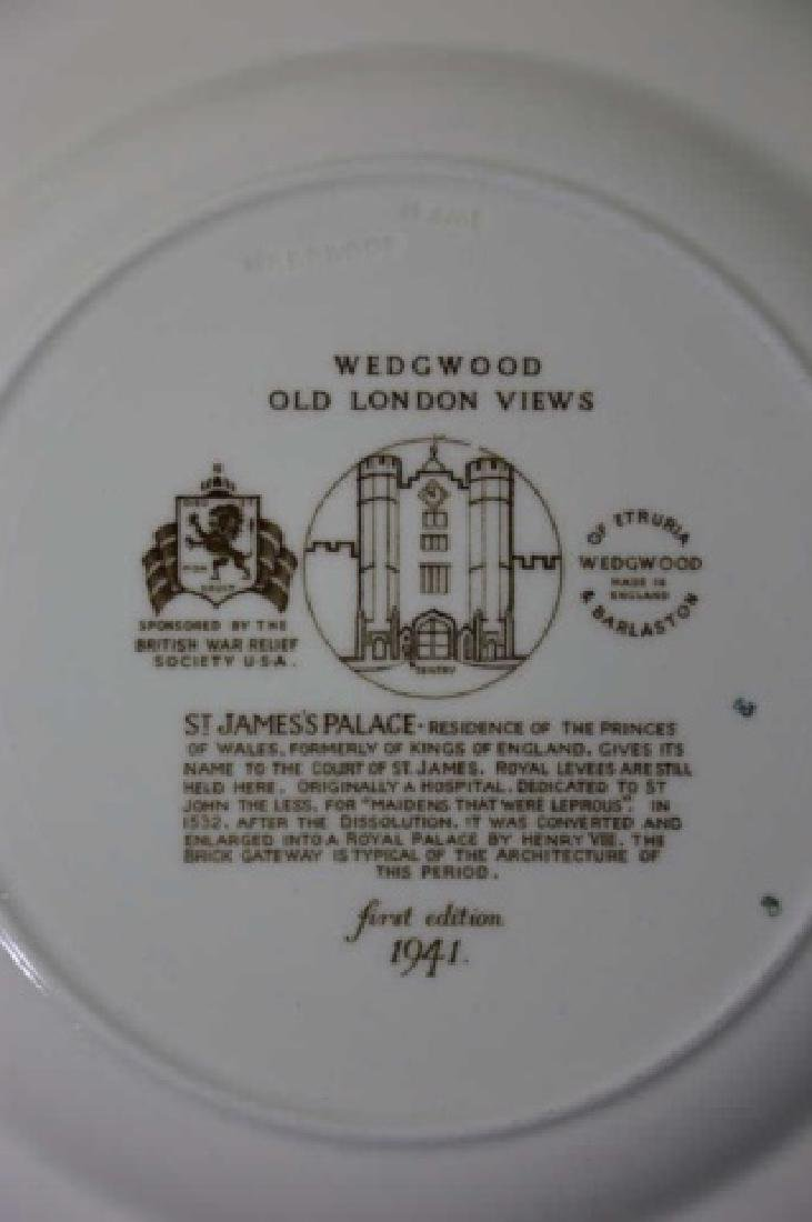 WEDGWOOD CABINET PLATE GROUPING - 9
