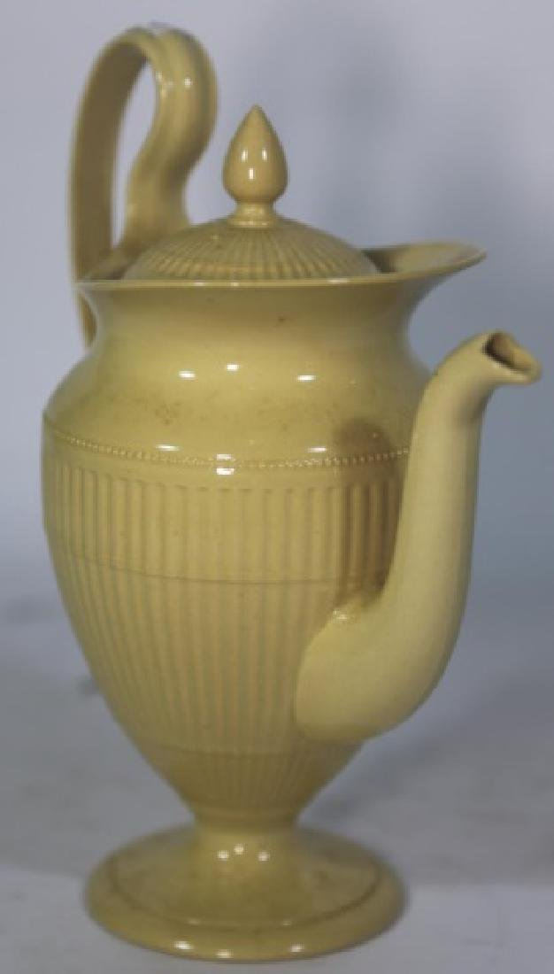 WEDGWOOD ANTIQUE ENGLISH HELMET SHAPE TEAPOT