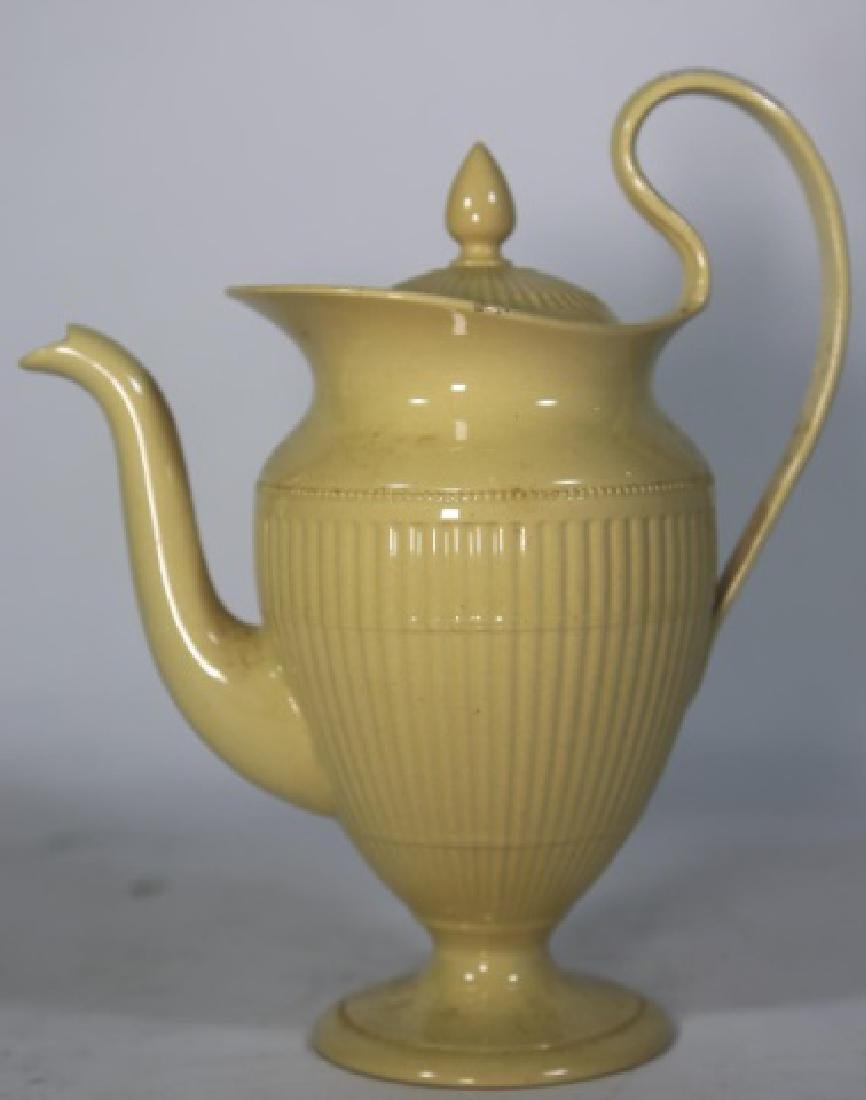 WEDGWOOD ANTIQUE ENGLISH HELMET SHAPE TEAPOT - 2