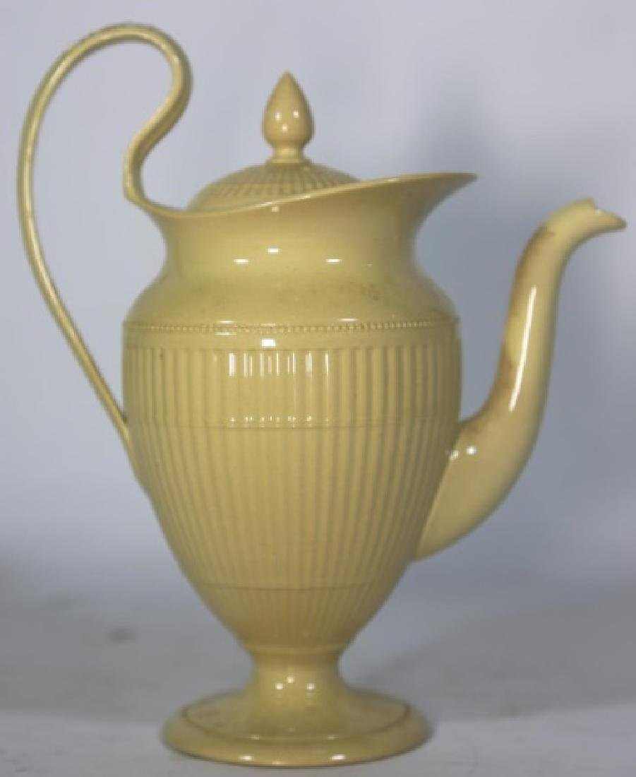 WEDGWOOD ANTIQUE ENGLISH HELMET SHAPE TEAPOT - 3