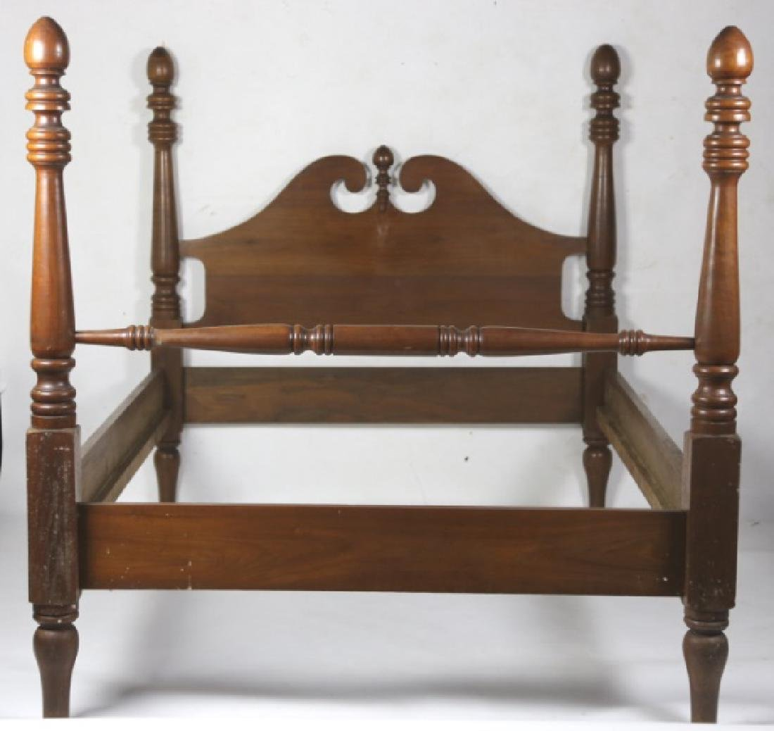 NC SOUTHERN BLACK WALNUT POSTER BED