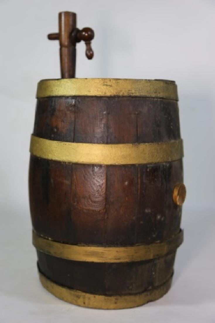 ANTIQUE WINE / WHISKEY BARRELL CASK