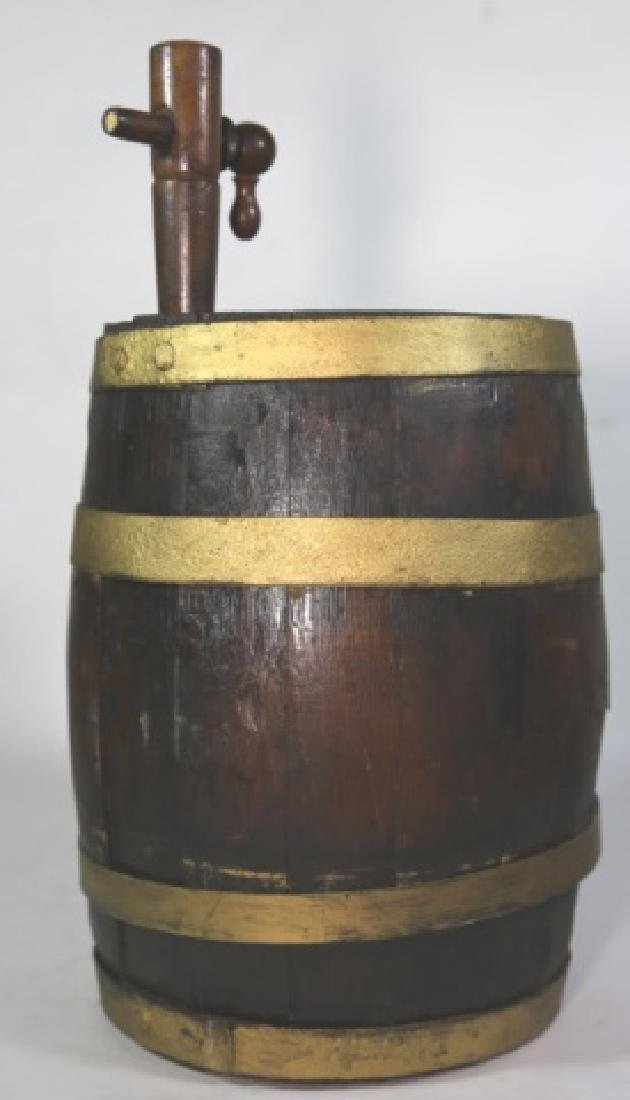ANTIQUE WINE / WHISKEY BARRELL CASK - 2