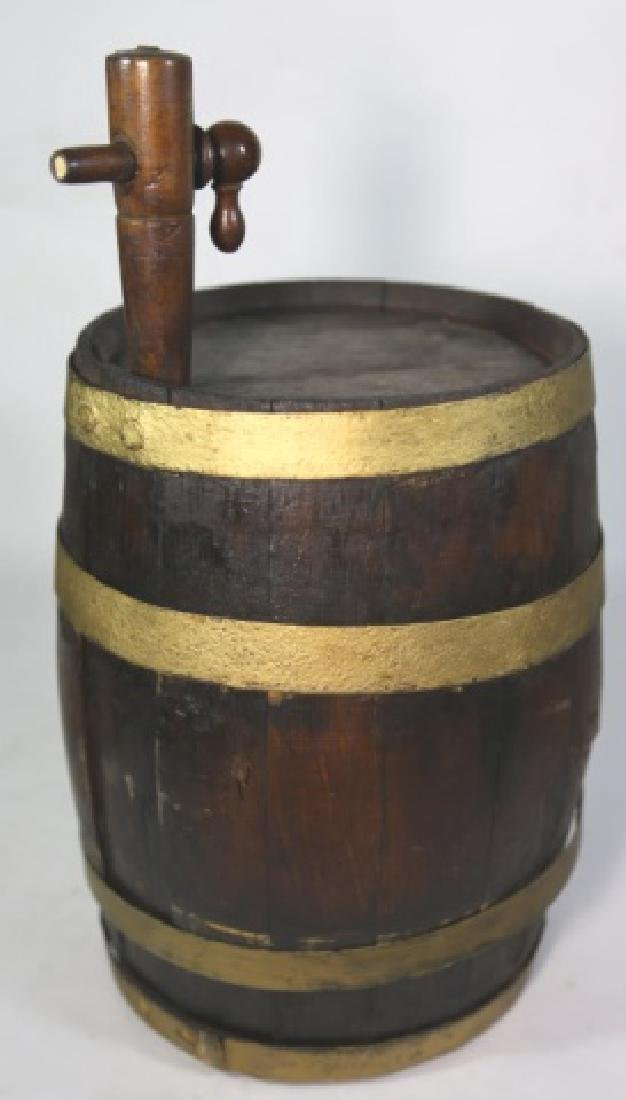 ANTIQUE WINE / WHISKEY BARRELL CASK - 3