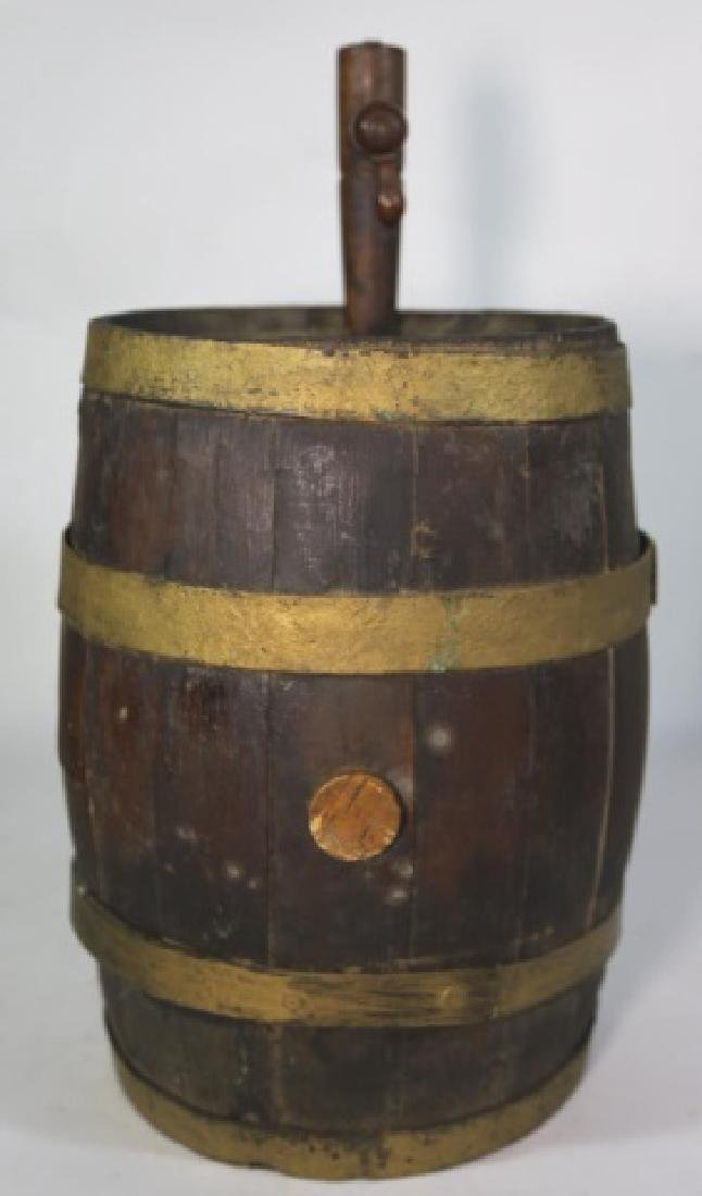 ANTIQUE WINE / WHISKEY BARRELL CASK - 5