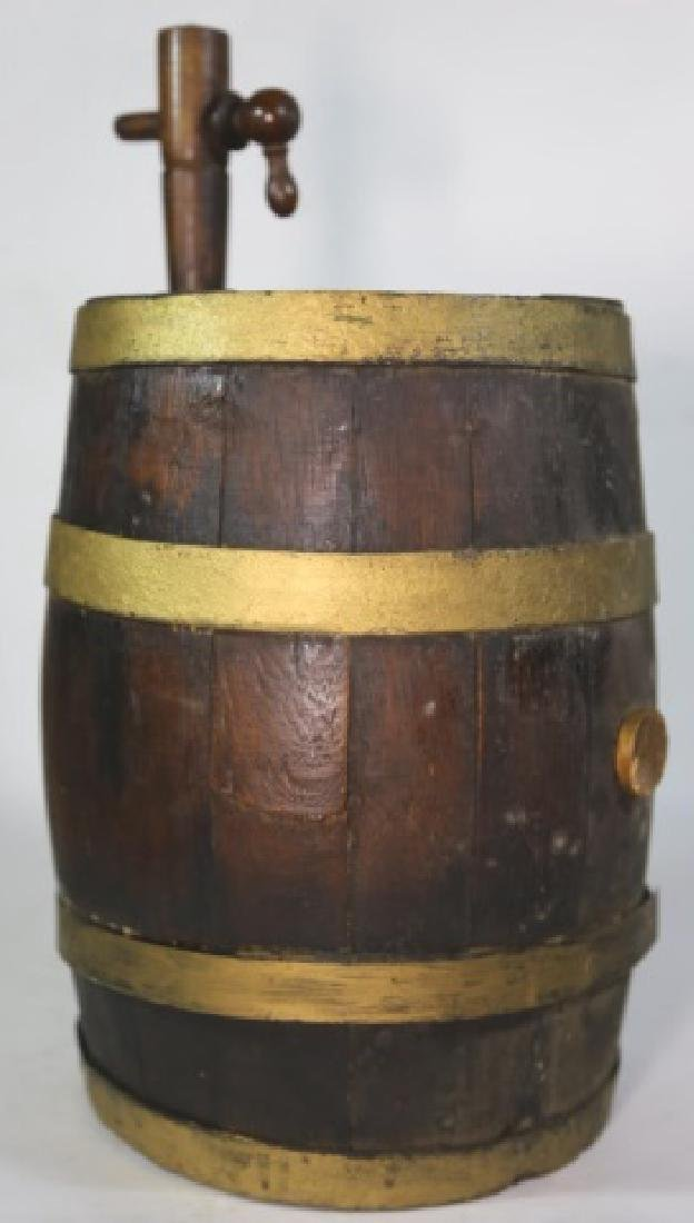ANTIQUE WINE / WHISKEY BARRELL CASK - 6