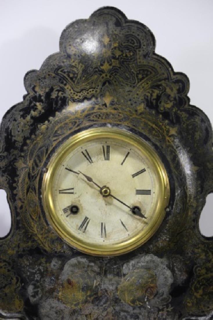 AMERICAN  CLOCK CO. NY,  IRON SIDE CLOCK - 2
