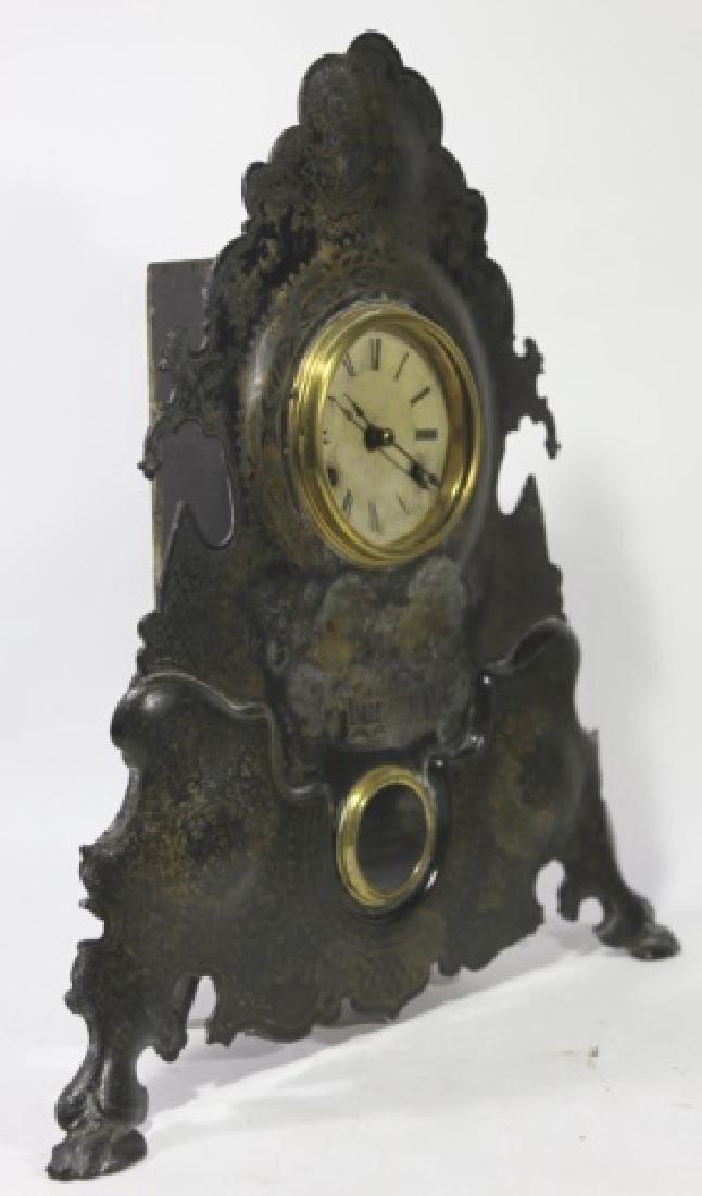 AMERICAN  CLOCK CO. NY,  IRON SIDE CLOCK - 4