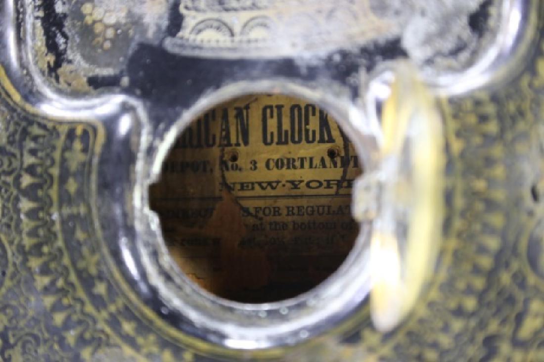AMERICAN  CLOCK CO. NY,  IRON SIDE CLOCK - 6