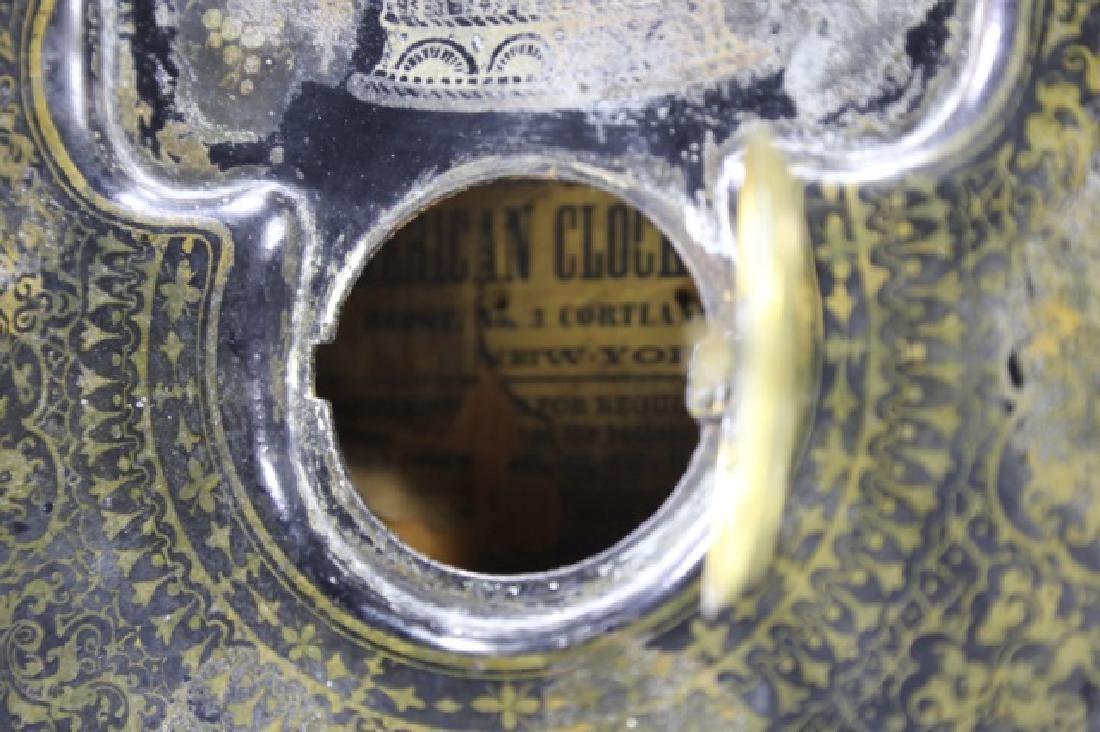 AMERICAN  CLOCK CO. NY,  IRON SIDE CLOCK - 7